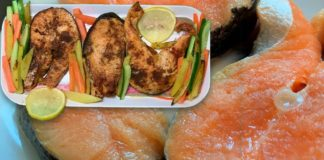 Oven Baked Salmon | Healthy Recipe |