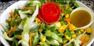 Simple tips how to Wash Lettuce for Salad /Arabic Salad Recipe