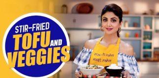 Stir-Fried Tofu and Veggies | Shilpa Shetty Kundra | Healthy Recipes | The Art Of Loving Food