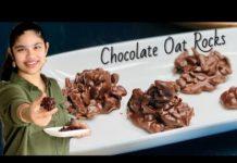 Sugar Free Chocolate Oats Rocks | Chocolate Oats Recipe | Eggless Chocolate Oats & Nuts Rocks