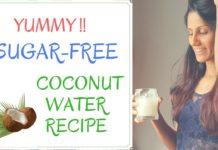 Sugar-Free Coconut Water Recipe
