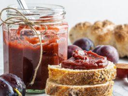 Sugar-Free Plum Jam   Without Pectin   Foodaciously