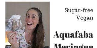 Sugar free Aquafaba Meringue