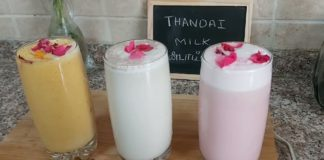 Thandai/holi special recipe/Healthy recipes/Three different flavours