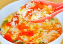 The Best Tomato Egg Drop Soup Recipe!  CiCi Li - Asian Home Cooking Recipes