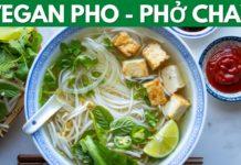 Vegan Pho (Phở Chay) with homemade broth - 越南河粉汤