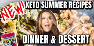 😱 YOU HAVE TO SEE THIS! FULL DAY EATING KETO / SUMMER KETO RECIPES / WHAT I EAT / DANIELA DIARIES