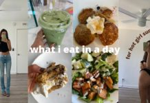 what i eat in a day   plant based + healthy recipes