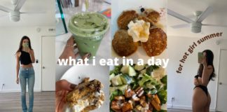 what i eat in a day | plant based + healthy recipes