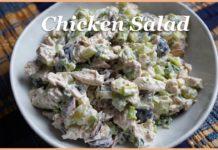 Chicken Salad Recipe, Easy & Heathy Recipe, How to make chicken salad recipe