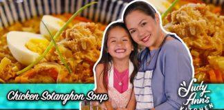 Chicken Sotanghon Soup |  Judy Ann's Kitchen