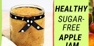 Easy and Healthy, Homemade Apple Jam: Sugar-Free!