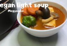 Ghanaian Vegan/Vegetarian light soup