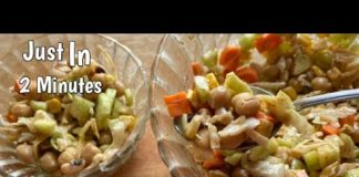 High Protein Salad Recipe   Corn Salad   Healthy Salad For Weight Loss   Easy Cooking By Jyoti Foods
