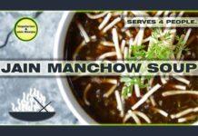 Jain Manchow Soup / जैन मनचाव सूप / Jain Man Chow Soup / Vegetarian and Jain Recipe