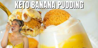 KETO BANANA PUDDING! How to Make Easy Keto Banana Pudding