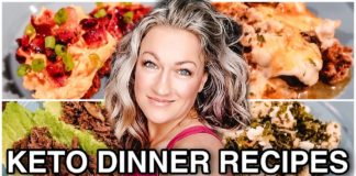 KETO DINNER RECIPES | Keto Dinners EASY | Suz and The Crew
