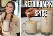 KETO LOW CARB PUMPKIN SPICE LATTE! Simple & Easy Low Calorie Recipe that Tastes like Starbucks!