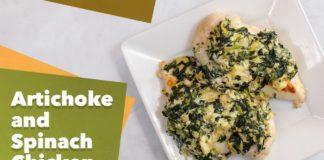 Keto Artichoke and Spinach Chicken Recipe