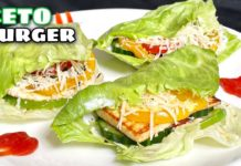 Keto Burger Recipe - Veg Paneer Keto Burger   Quick and Easy low carb Keto recipe - Sattvik Kitchen