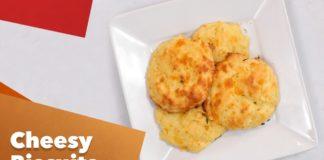 Keto Cheesy Biscuits Recipe