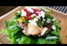 Keto Tofu Burger Patty | Keto Vegetarian Burger | Keto Recipes | Low Carb