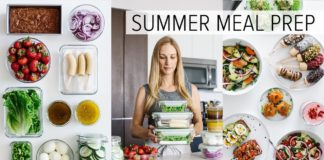 MEAL PREP for SUMMER | light & fresh recipes + PDF guide