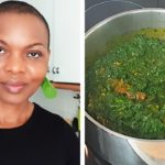 """NIGERIAN """"AFANG"""" SOUP with Frozen Alternative Vegetables 