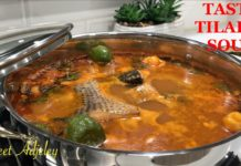 SUPER TASTY TILAPIA SOUP RECIPE |  YOUR FAMILY WILL COME BACK FOR MORE