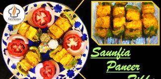 Saunfia Paneer Tikka   Fennel Recipes Authentic Paneer Tikka Recipe Healthy Quick Meals Fab Flavours