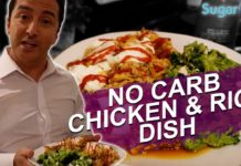 Try This No Carb Chicken & Rice Diabetes Friendly Recipe.