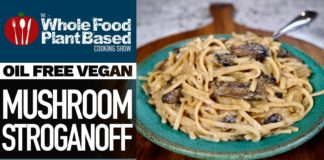 VEGAN MUSHROOM STROGANOFF 🍄 Creamy goodness and an instant family hit!