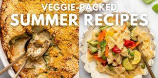 Veggie-Packed Summer Recipes! (Vegan)