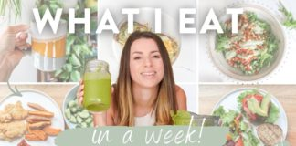 WHAT I EAT IN A WEEK | My Go To Healthy Meals + Easy Recipe Ideas!