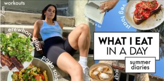 What I Eat in A Day // healthy(ish) easy summer recipes   vlog
