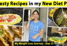 What I ate today | Healthy Recipes | Day 23 of GunjanShouts #30DayWeightLossChallenge