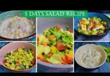 5 Healthy & Easy Salad Recipes For Weight Loss | Salad Recipes |झट पट सलाद रेसिपी Rachna's Kitchen