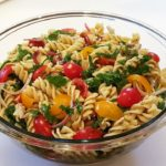 Best Ever Pasta Salad Recipe with Homemade Dressing