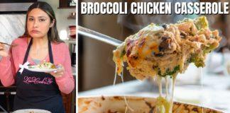 EASY KETO CASSEROLE! How to Make Cheesy Keto Chicken Broccoli Casserole