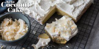 How to Make Keto Coconut Cake   Dairy Free - Nut Free - Sugar Free