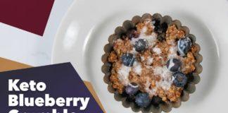 Keto Blueberry Crumble Recipe