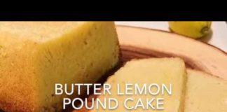 Keto Butter Lemon Pound Cake Recipe - Easy Sugar Free, Gluten Free, Low Carb Keto Cake