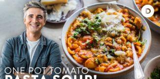 ONE POT PASTA Tomato Soup!