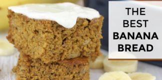 The BEST Banana Bread Recipe   Healthy + Easy