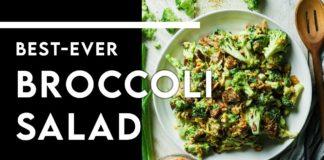 The BEST Broccoli Salad Recipe EVER!!!!! - Chef Michael - Keto, Sugar Free, Gluten Free #shorts