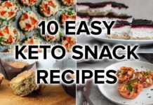 10 Easy Keto Snack Recipes That'll Beat Your Munchies