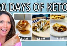 20 FULL DAYS OF KETO! (The BEST Easy Keto Recipes!)