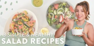 3 SALADS I GREW UP EATING | Simple & Healthy Recipes That You *NEED* To Try!