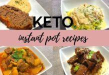 4 KETO INSTANT POT RECIPES / KETO/LOW CARB DINNER IDEAS