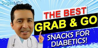 7 Grab & Go Diabetic Snacks For Perfectly Balanced Blood Sugar!